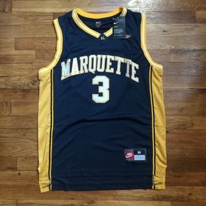 NWT Dwayne Wade Marquette NCAA Jersey Nike NEW